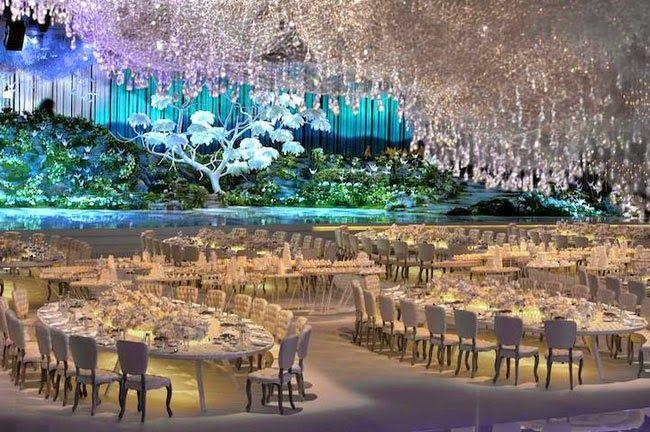 Acara Resepsi Pernikahan Super Indah Karya Seniman Dubai #WOW