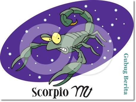 Zodiak Scorpio Update Oktober