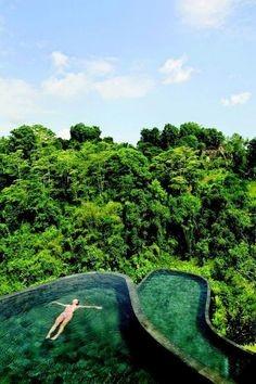 Hanging Garden Swimming Pool - Ubud, Bali