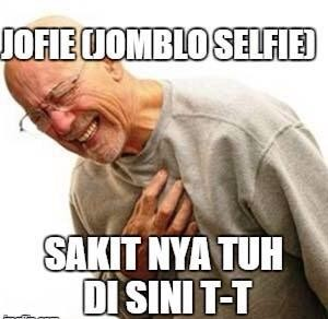 Pulsker! Jomblo Selfie tuh sakitnya disini. #JOFIE