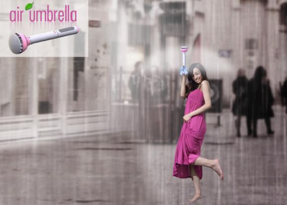 Payung Canggih Ini Melindungi Anda Menggunakan Udara #wow