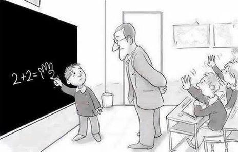 Makanya kalo belajar angka jangan pake jari.. Wkwkwkwk :D #Ada2aja..