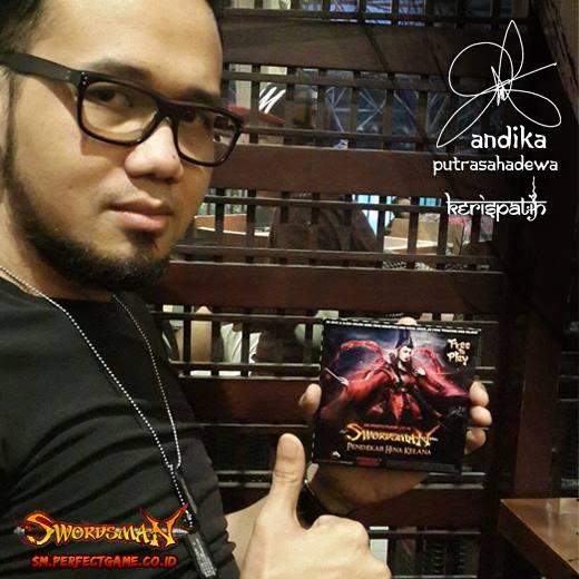 """Wow! Kenal dong Andika Putrasahadewa (Kerispatih). Main bareng Swordsman Online Indonesia yang akan Open Beta 27 Oktober . Eh, ada event """"Perfect Bonus"""" dng hadiah utama mobil TOYOTA AGYA http://sm.perfectgame.co.id/event/fitur-perfect-bonus"""