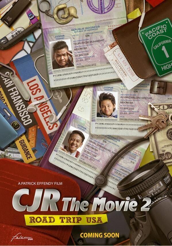 CJR THE MOVIE 2 (2014) - drama, musikal, Indonesia Sinopsis: Iqbal, Aldi dan Kiky akan menghadapi masa transisi saat Bastian hengkang dari grup Coboy Junior (CJR). Selengkapnya http://movie.co.id/cjr-the-movie-2/