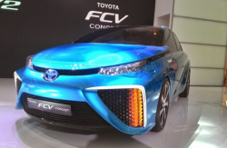Toyota Hadirkan Inovasi Mobil Bertenaga Hidrogen Tahun 2015