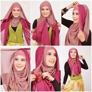 tutorial hijab terbaru