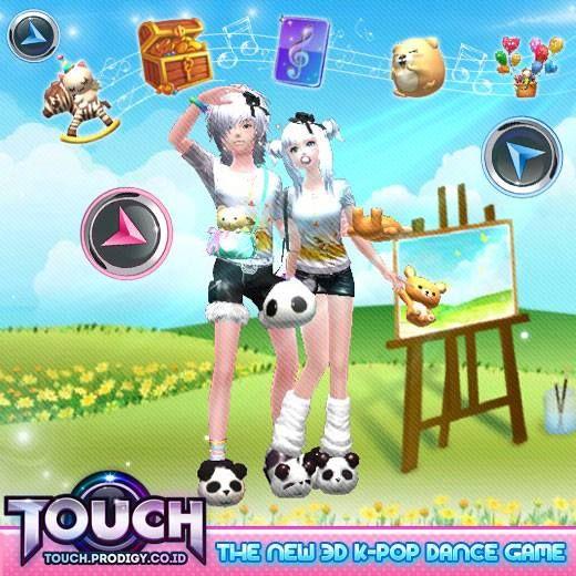 Touch Online merupakan game online casual dance dengan musik lagu-lagu KPOP. Bertipe web-based (tanpa perlu instal) langsung main di browser (mozilla, explorer, chrome). Website > http://touch.prodigy.co.id/ dan klik Register new ID.