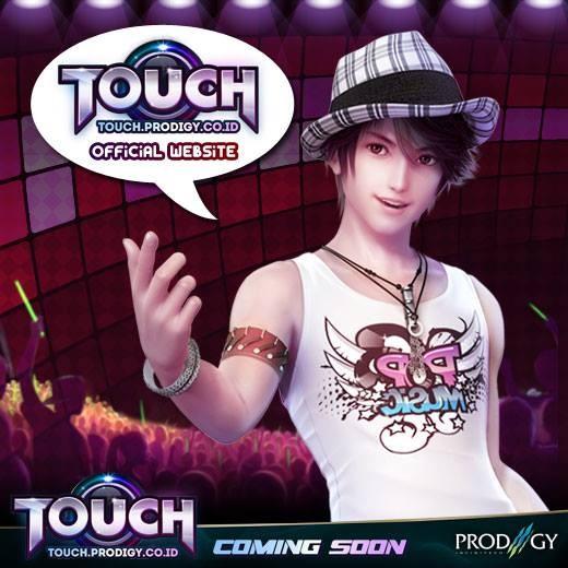 Touch Online Indonesia, new 3D casual dance KPOP. Main bersama puluhan ribu dancers di Indonesia. Buat ID kamu di http://touch.prodigy.co.id/home/ atau Registrasi. Tidak perlu install/download. langsung main!
