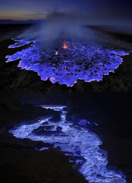 Lava Biru Gunung Ijen Banyuwangi