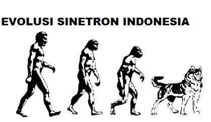 Evolusi para artis pemeran sinetron Indonesia. Credit: Andika dwi P