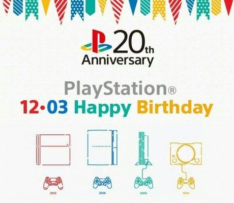 Happy Birthday PlayStation