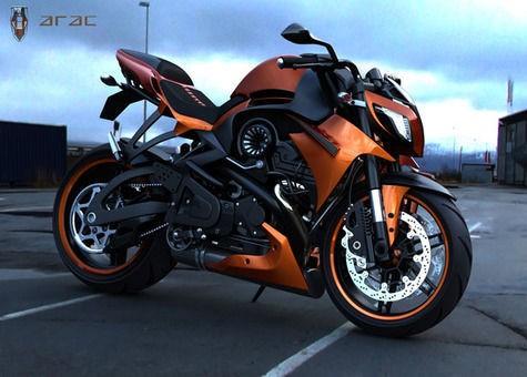 ARAC ZXS,konsep dri motor naked sport bike atau juga street fighter