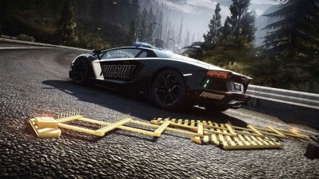 Lamborghini Aventador Need For Speed HD Wallpaper