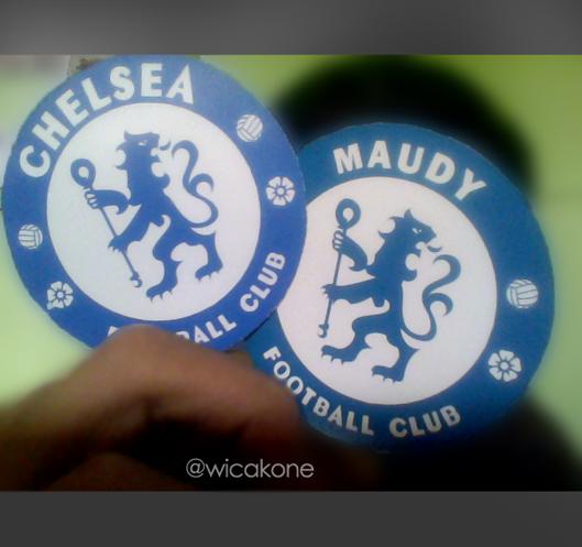 Emangnya Chelsea Islan aja yg punya Football Club? Maudy Ayunda juga keles =)) :D #JustForFun Follow @wicakone on twitter