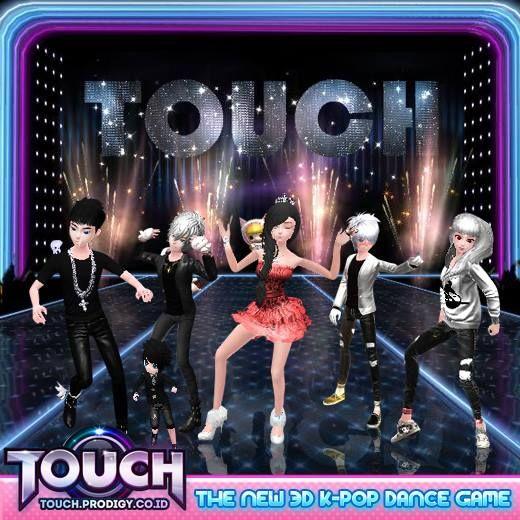 Mainkan dan Menari bersama teman-temanmu di game casual dance KPOP terbaru TOUCH ONLINE INDONESIA . Klik website dan login atau registrasi ID kamu di http://touch.prodigy.co.id/register.php