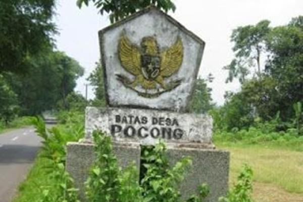 Ada nama Desa Pocong yang terletak di kecamatan Tragah, kabupaten Bangkalan, Jawa Timur, Indonesia.