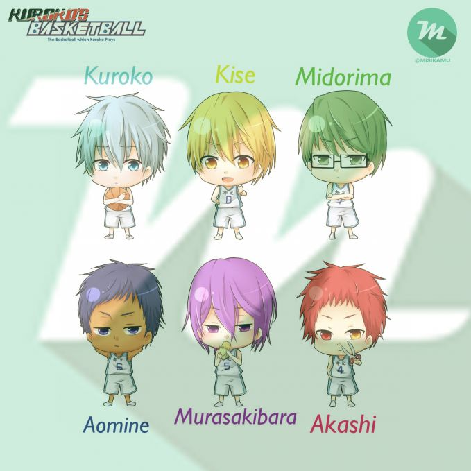 Mana karakter di anime kuroko yang kamu suka ? Ayo cek Instagram @Misikamu - Mission menarik, gokil, dan lucu ada di Misikamu