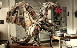 10 Foto Hasil Origami yang Luar Biasa