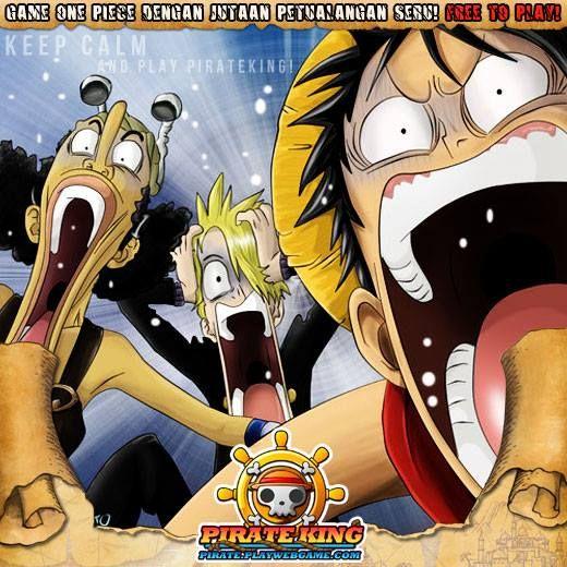 Moment ketika Sanji - Usopp dan Luffy bertemu... Ikuti petualangan seru ONE PIECE Di Pirate King ! Play Now >> http://goo.gl/ewCjeb