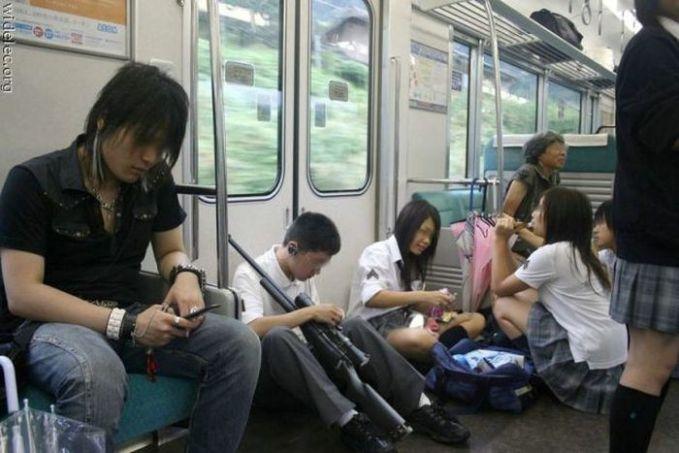 tingkah anak sekolah dari jepang sebelum tauran pelajar #### War