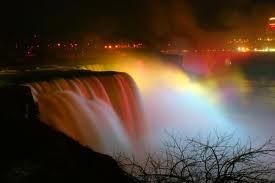 Horseshoe Falls, juga dikenal sebagai air terjun Kanada, adalah sebuah air terjun di Sungai Niagara, kebanyakan terletak di sisi perbatasan Kanada dengan Amerika Serikat. Terletak antara Terrapin Point di Pulau Kambing di New York State