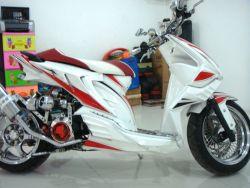 Modifikasi Motor Honda Beat Versi 1