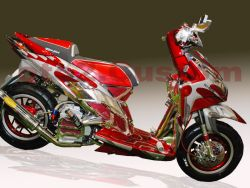 Modifikasi Motor Honda Vario Versi 1