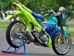 Modifikasi Motor Satria FU Versi 1