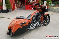Modifikasi Motor Harley Davidson Versi 1