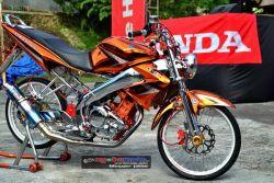 Modifikasi Motor Yamaha Vixion Versi 1