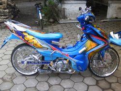 Modifikasi Yamaha Jupiter Z Versi 1
