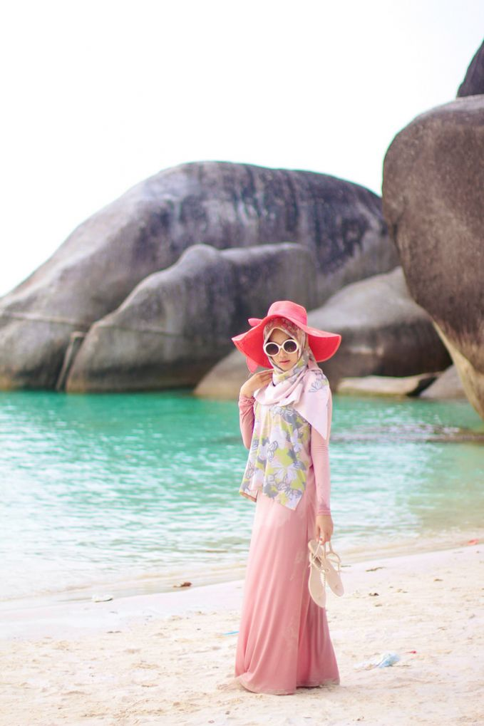 Indah Nada Puspita Hijaber Stylish Dan Fashion Blogger