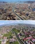 Kumpulan Foto Sebelum dan Sesudah Pembangunan Kembali Serambi Mekah Setalah Tsunami