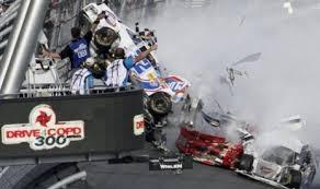 kecelakaan maut balap mobil
