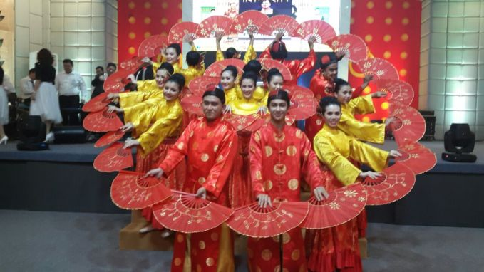 THE SECOND PERFORM IN CHINESE NEW YEAR AT GBI PRJ PLUIT