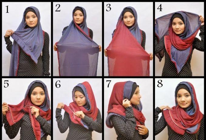 Cara memakai jilbab simple,cantik serta praktis 2015, disini tutorial hijab berbagi untuk anda sekalian mengenai cara memakai jilbab tersebu
