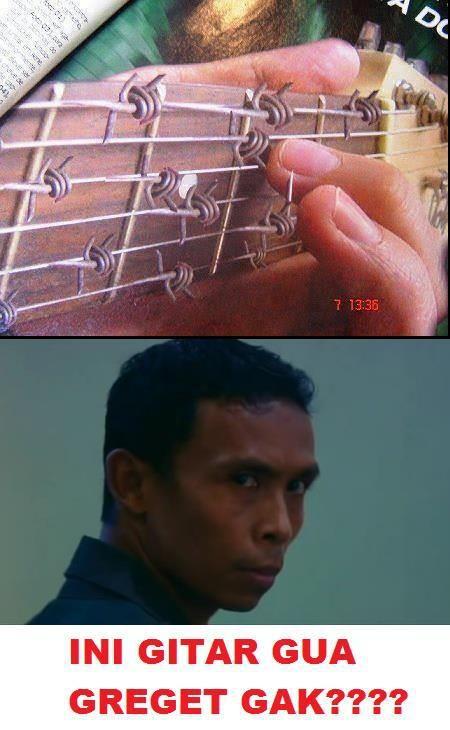 gitar paling greget di dunia, gitarnya maddog