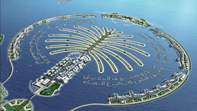 Percayakah dengan pulau ini... ya harus dipercaya.. ini adalah palm island... keren banget....kira2 negara atau pulau kamu bisa dibuat begin