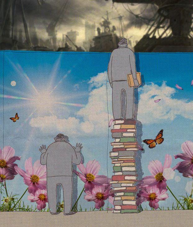 Ilmu mengungkapkan realita dan fakta. Ilmu membuat kita terbebas dari kesenangan dan impian tak berdasar yang fana dan sementara. Keep ON!