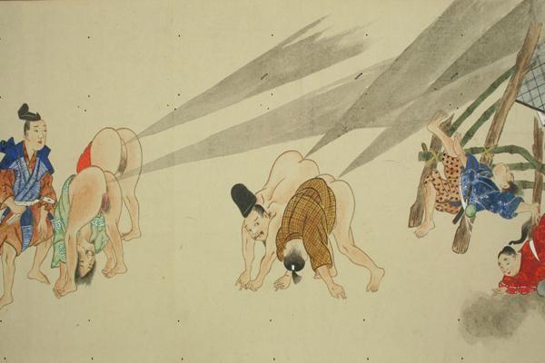 Di zaman Jepang kuno ada sebuah festival bernama He-Gassen, atau festival perang kentut.