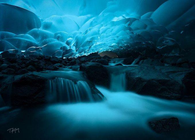 Mendenhall Ice Caves - Juneau, Alaska