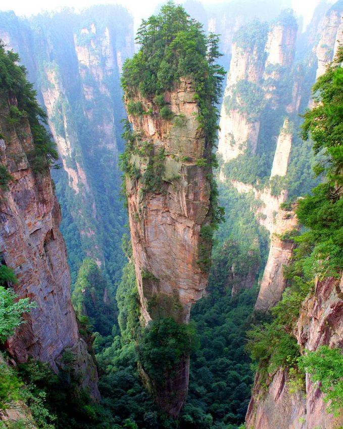 Tianzi Mountains - Cina
