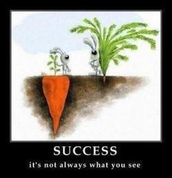 Jangan lihat dari luar saja, tetapi dari dalam juga... SUCCESS
