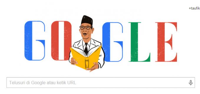 GOOGLE Rayakan Ultah Ki Hadjar Dewantara Sebagai Hari pendidikan Nasional http://bongkarmagz.blogspot.com/2015/05/google-rayakan-ultah-ki-h