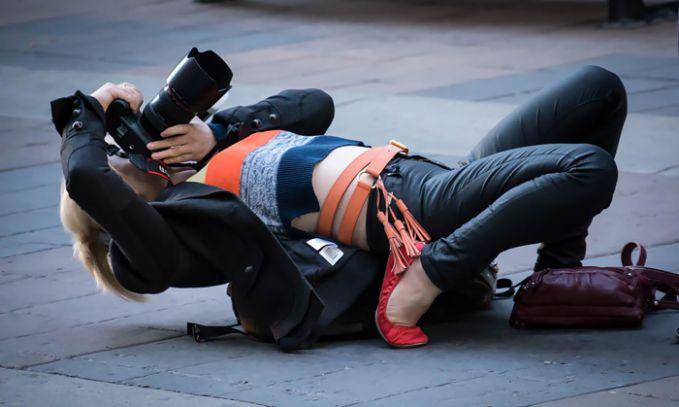 Wow... Totalitas Seorang Photograper yang Patut Kita Acungi Jempol