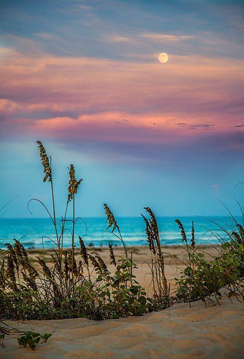 Indahnya pemandangan sore hari pantai di Pulau Padre, fyuuh , pengen deh PULSKER!