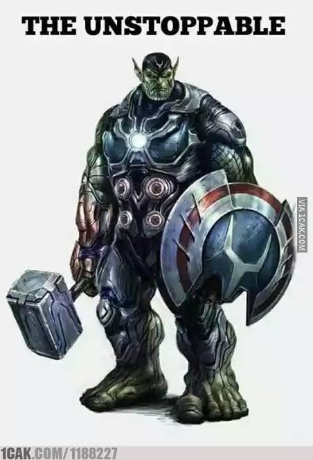Ini baru Avenger Bersatu !!