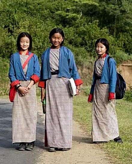7 - Bhutan Sederhana, indah dan tradisional. Itu merupakan kata-kata terbaik yang bisa digunakan untuk menggambarkan seragam ini.