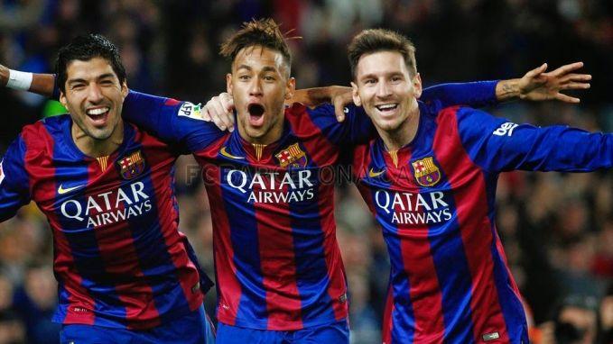 Messi Suarez Neymar Msn Trio Sepak A Terbaik Di Dunia