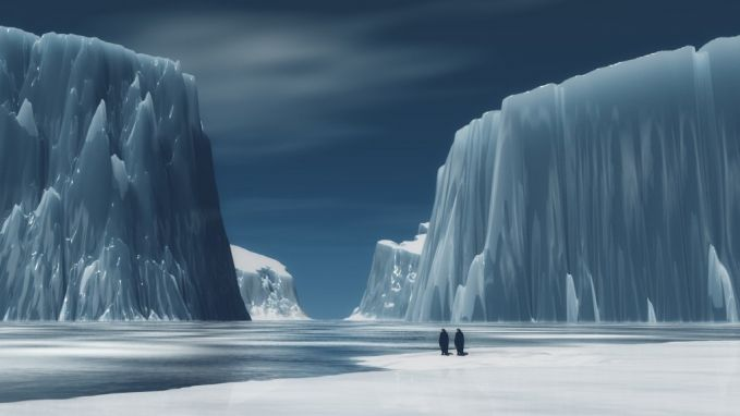 2. Kebanyakan orang berpikir jika gurun itu kering, berpasir, selalu menyakitkan dan panas. Sebenarnya, menurut definisi, es yang dingin di Antartika adalah gurun terbesar di dunia.